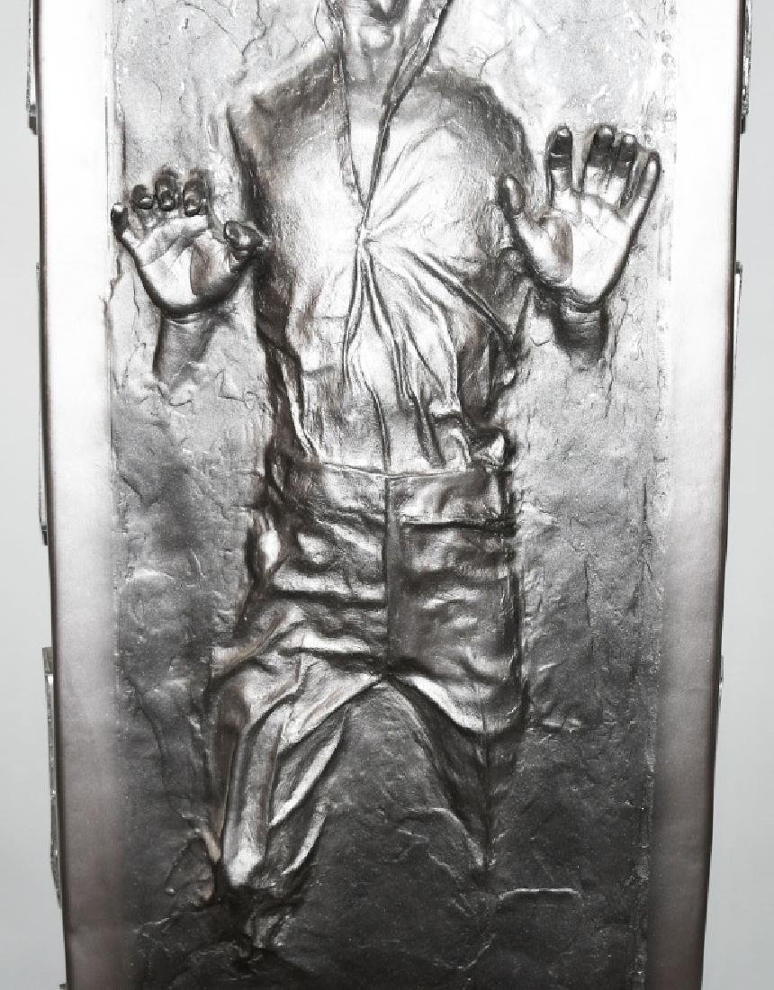 "80"" LIFESIZE HAN SOLO IN CARBONITE PROP STATUE - 3"