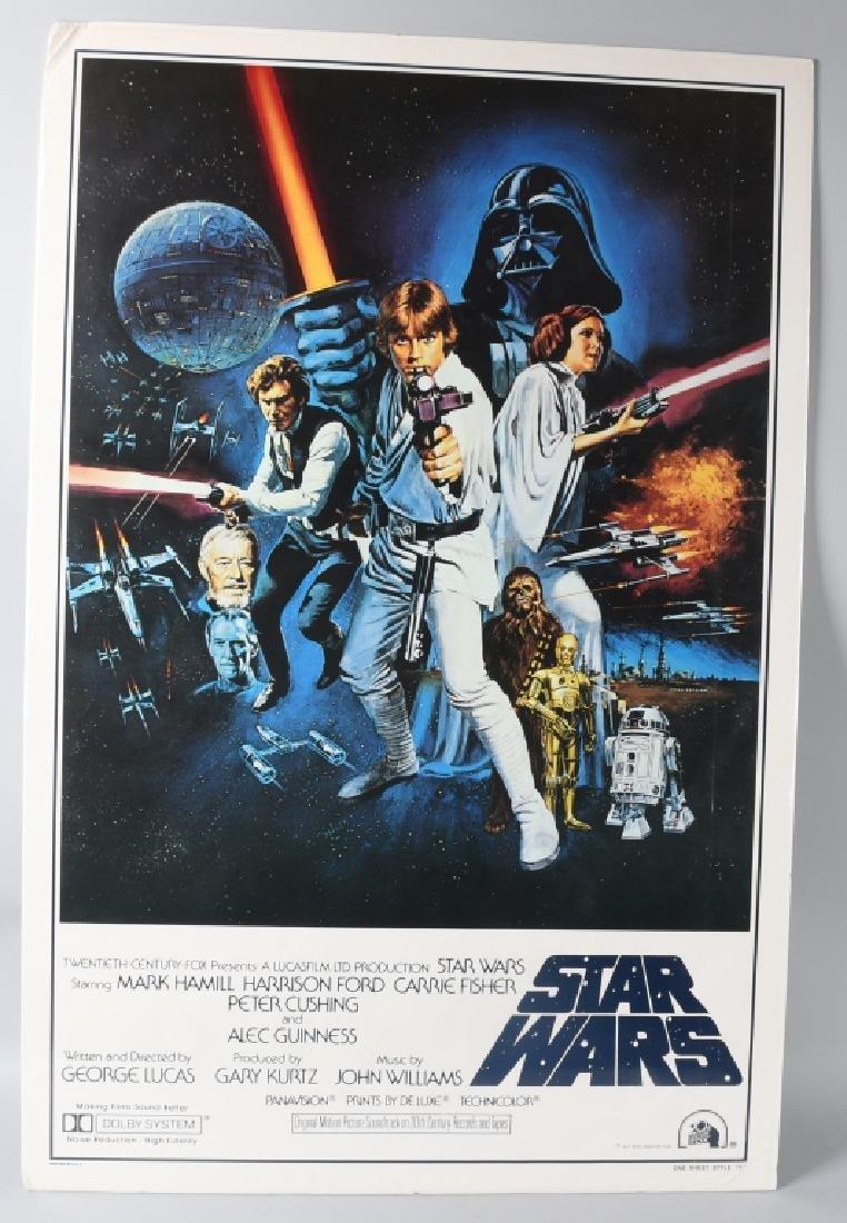 1977 STAR WARS STYLE C MOVIE POSTER