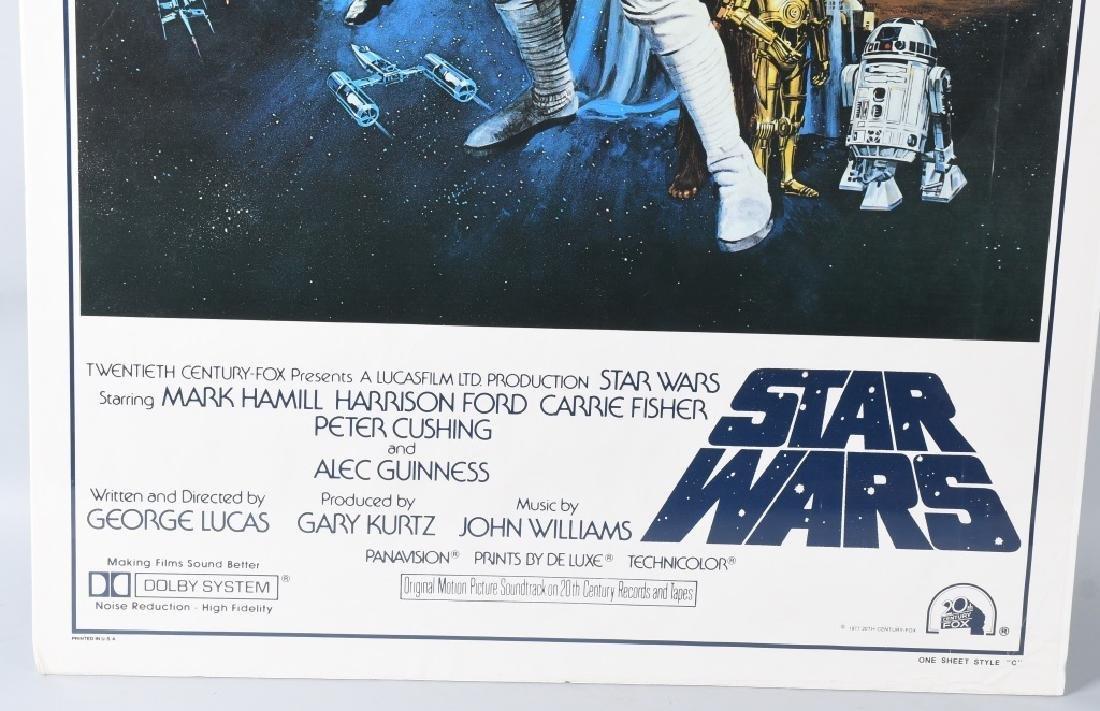 1977 STAR WARS STYLE C MOVIE POSTER - 4