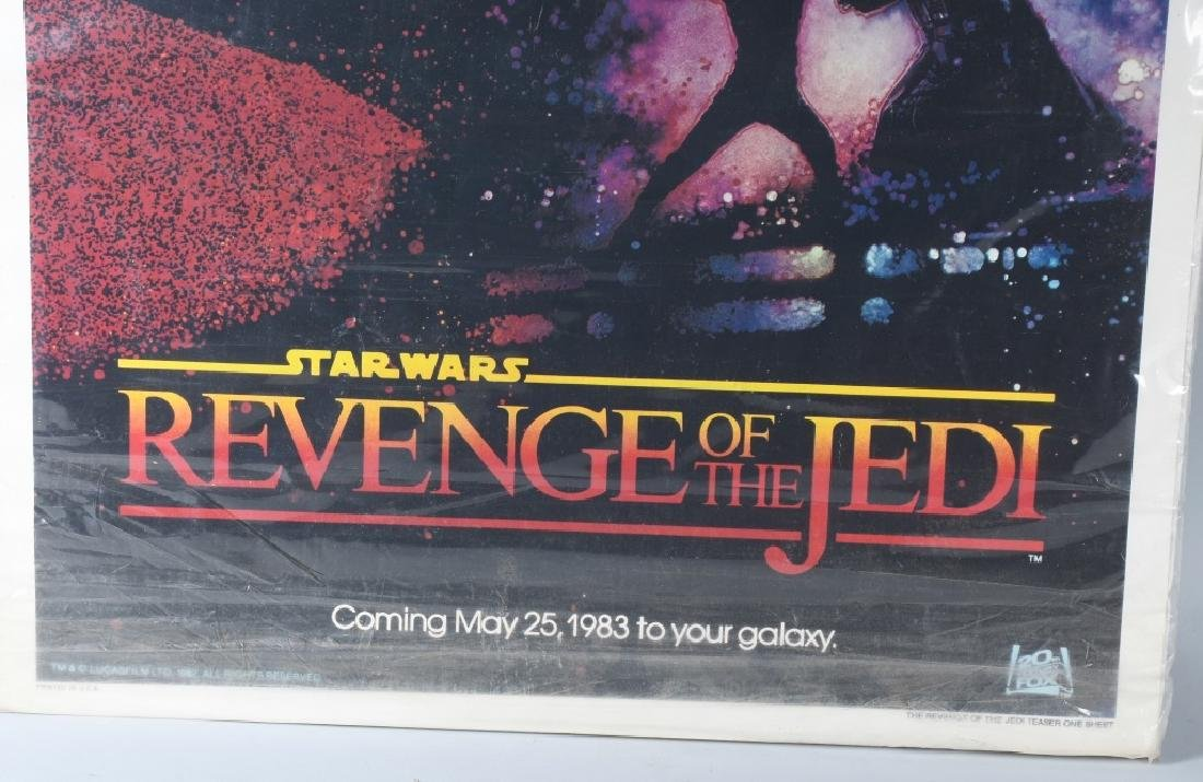 1982 STAR WARS ROTJ TEASER MOVIE POSTER - 4