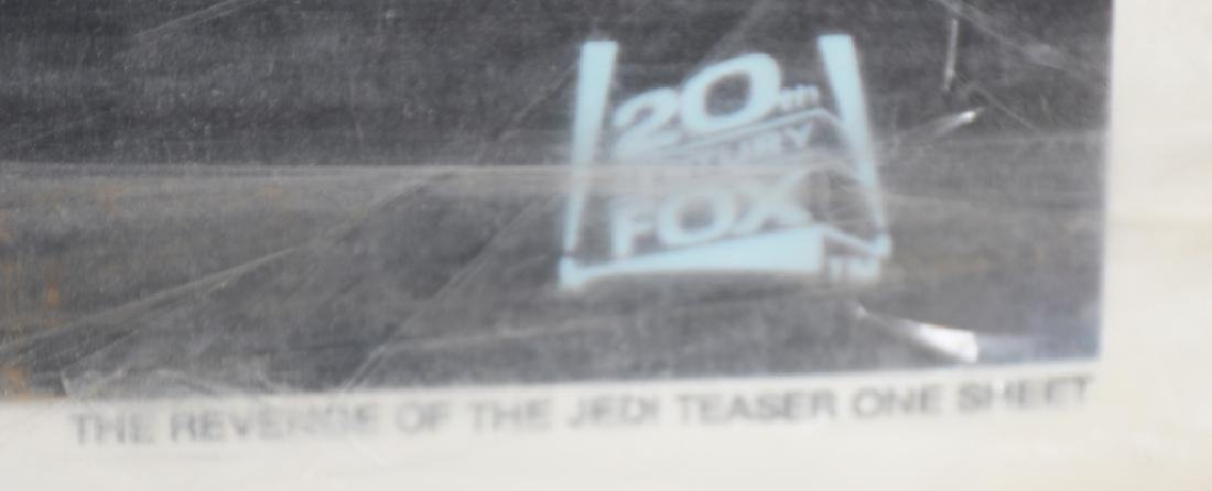1982 STAR WARS ROTJ TEASER MOVIE POSTER - 5