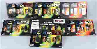 7- STAR WARS ACTION FIGURE COLLECTOR PACKS