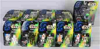 COLLECTION OF 1996 STAR WARS ACTION FIGURES MOC