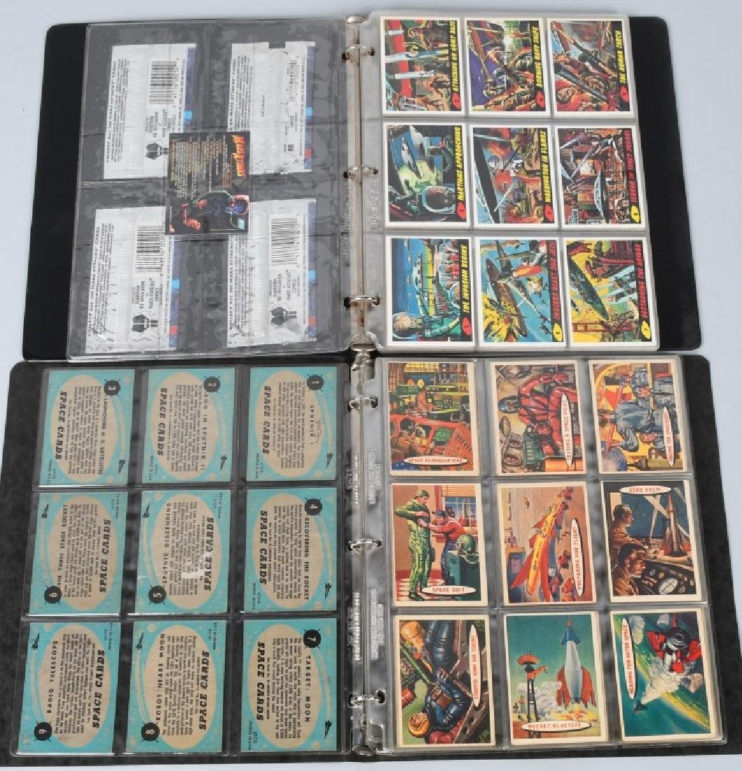 1957 TOPPS SPACE CARDS FULL SET 1-88