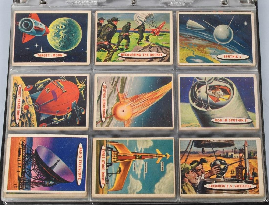 1957 TOPPS SPACE CARDS FULL SET 1-88 - 2