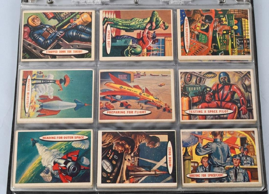 1957 TOPPS SPACE CARDS FULL SET 1-88 - 3