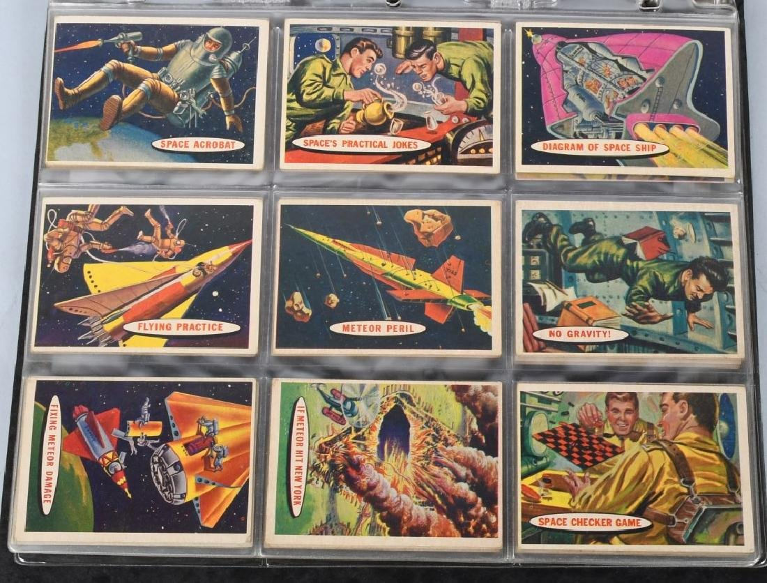 1957 TOPPS SPACE CARDS FULL SET 1-88 - 4