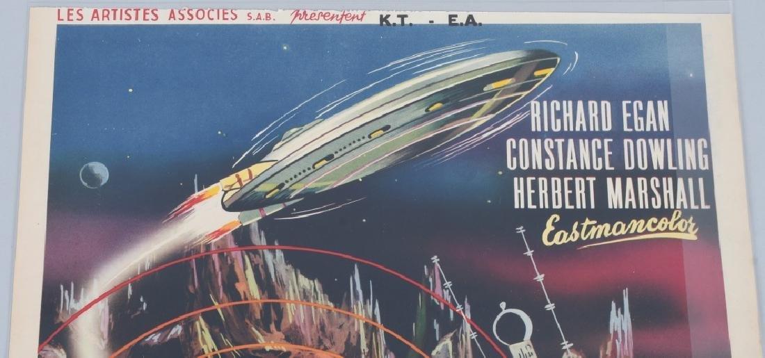 "1954 SCI-FI MOVIE ""GOG"" MOVIE POSTER - 2"