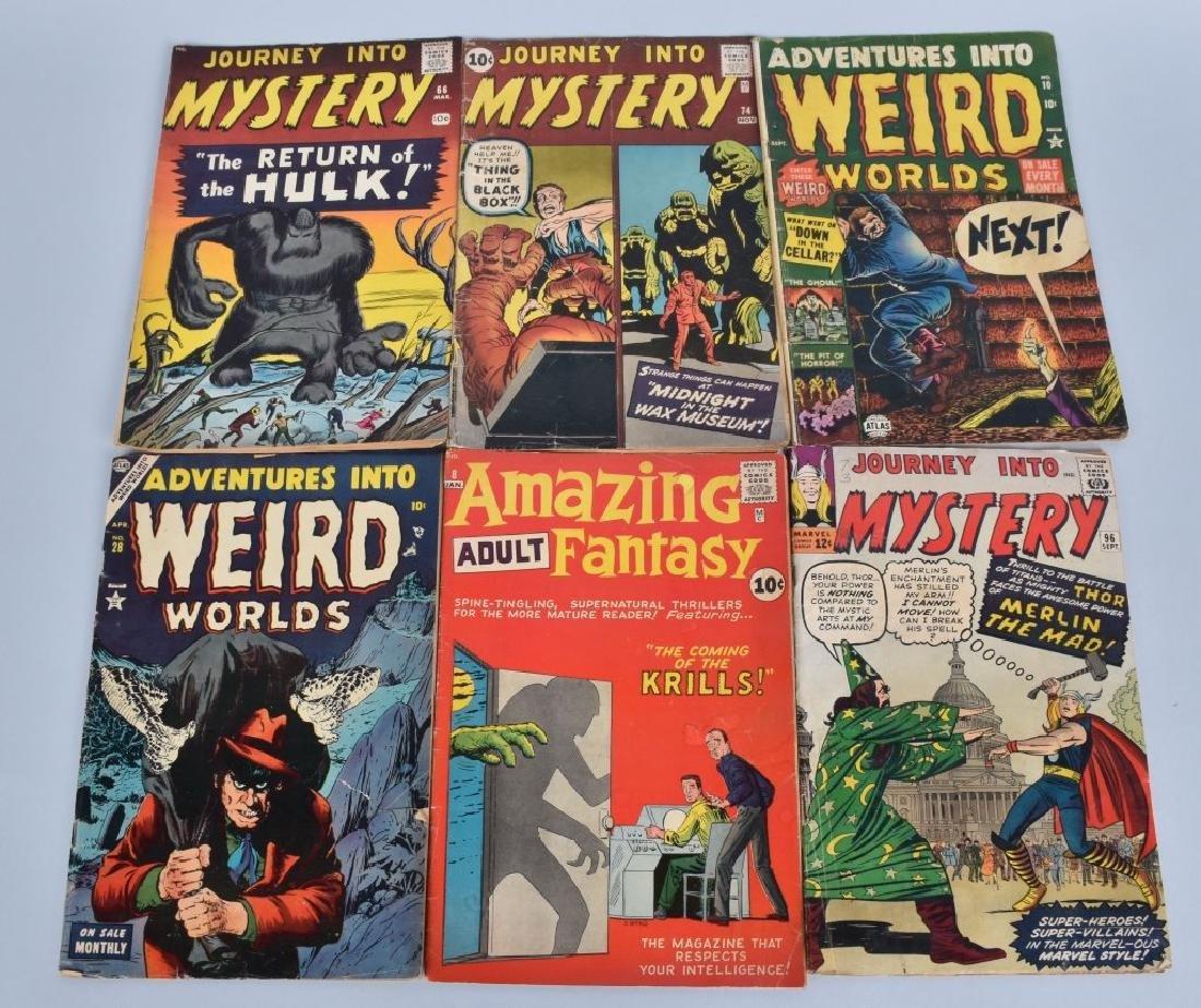 17 MISC EARLY MARVEL COMICS 1950 -1960s - 2