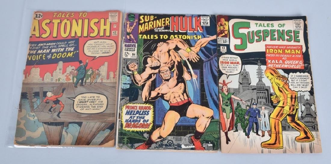 17 MISC EARLY MARVEL COMICS 1950 -1960s - 4