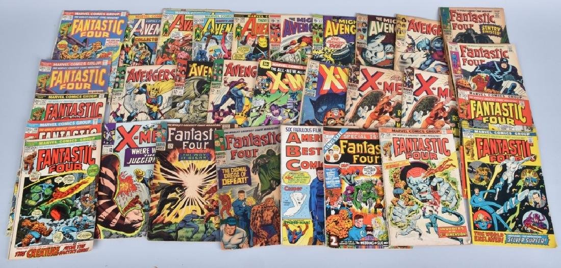 30 Misc MARVEL AVENGERS X-MEN FANTASTIC FOUR 60-70
