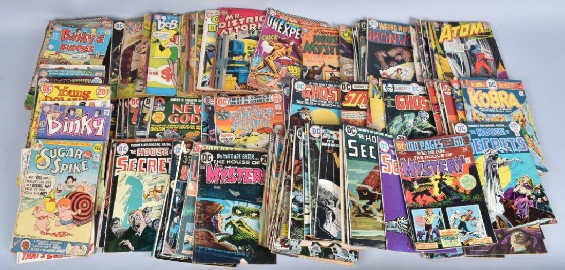 184 MISC DC COMICS FROM 50-70s