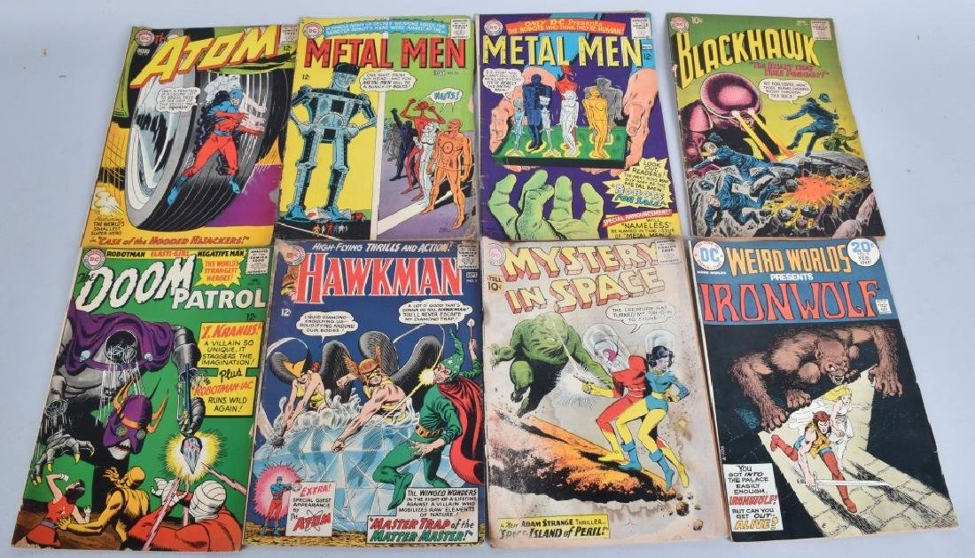 184 MISC DC COMICS FROM 50-70s - 2