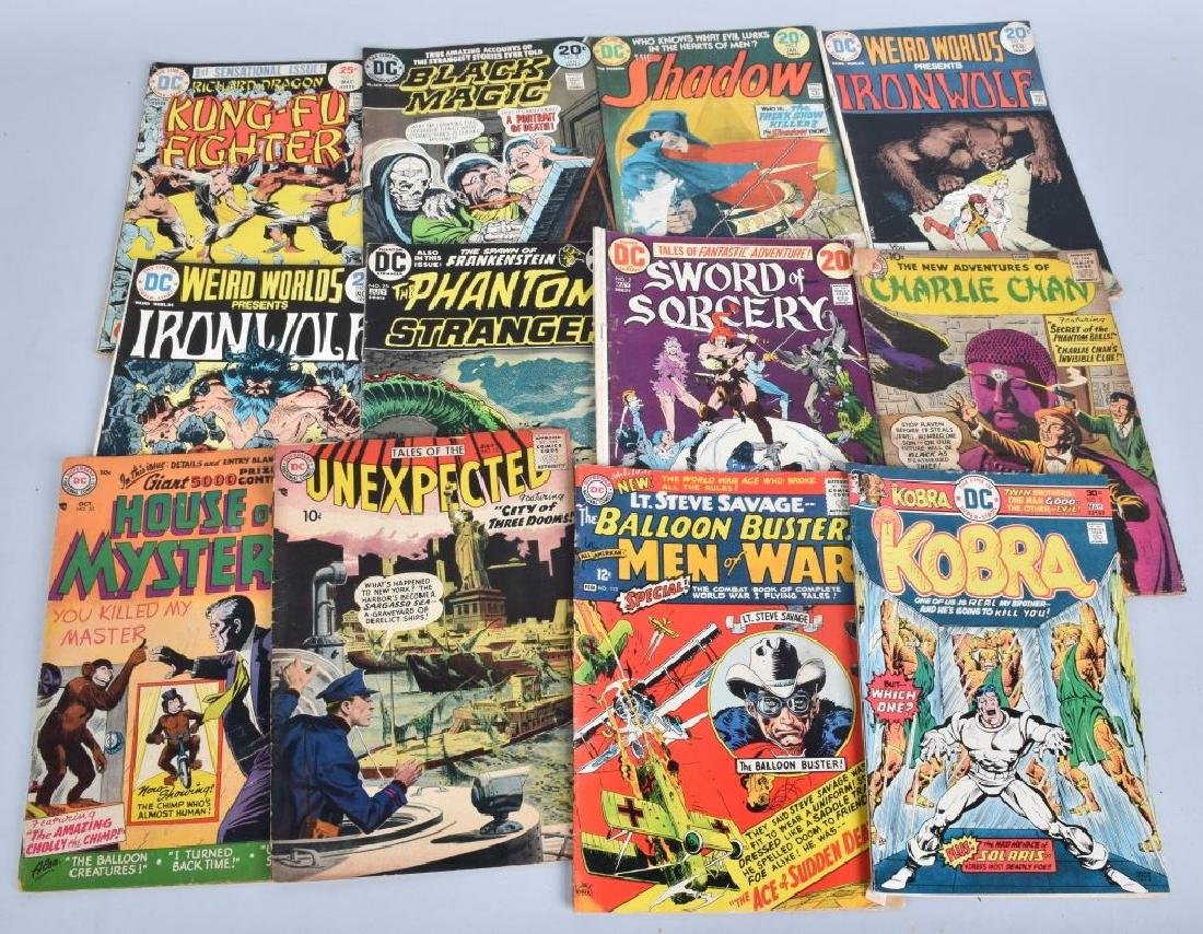 184 MISC DC COMICS FROM 50-70s - 3