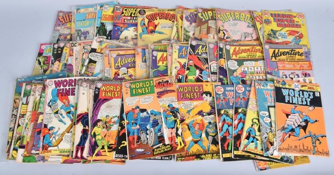 65 MISC SUPERBOY, WORLDS FINEST, ADVENTURE 40-70s