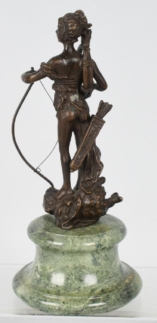 BRONZE DIANA VICTORIOUS ARCHER on BOAR - 4