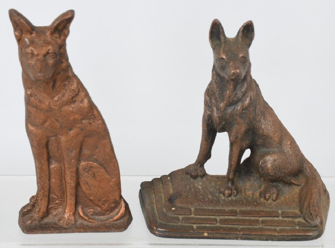 CAST IRON CRYING CHILD DOORSTOP & BOOKENDS - 9