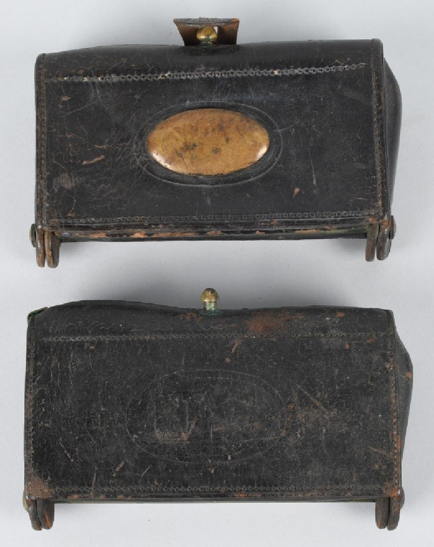 2-INDIAN WARS McKEEVER CARTRIDGE BOXES & MORE - 2