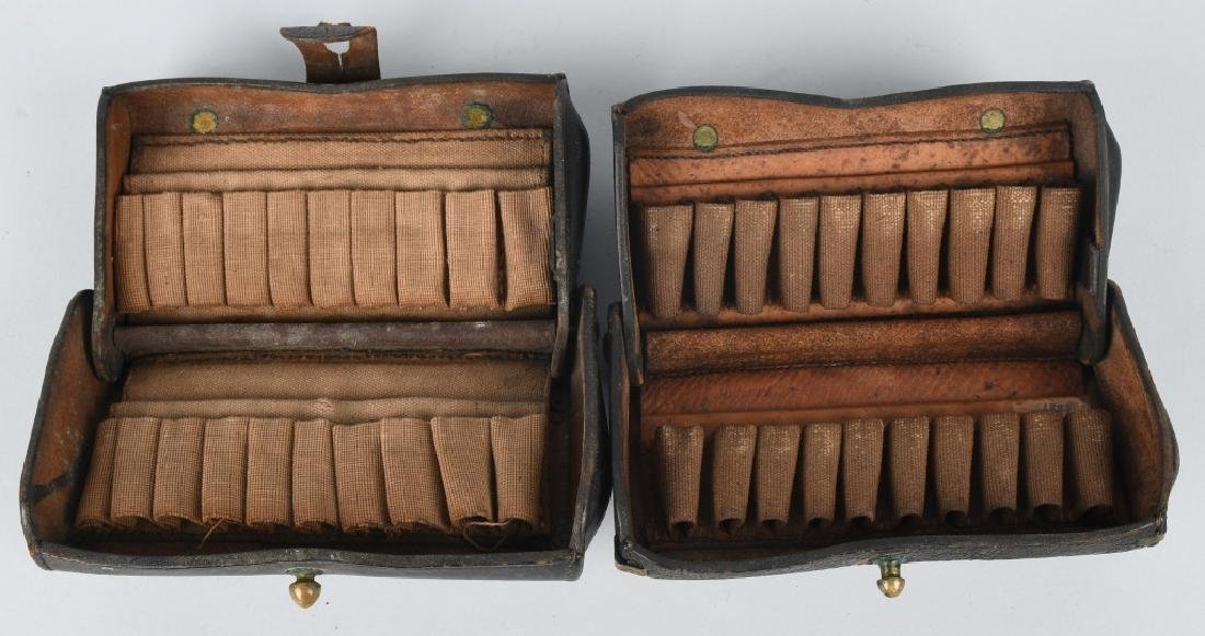 2-INDIAN WARS McKEEVER CARTRIDGE BOXES & MORE - 3