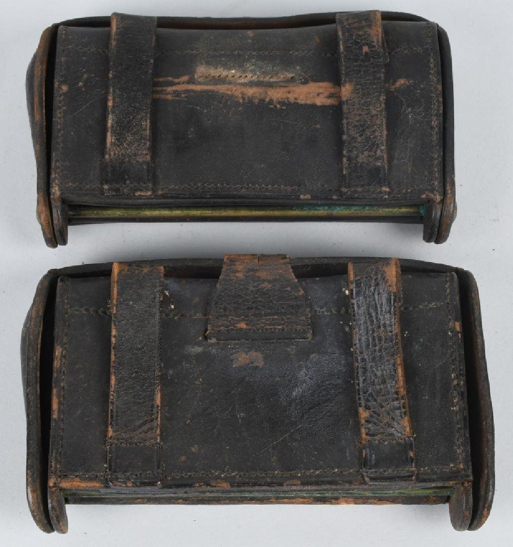 2-INDIAN WARS McKEEVER CARTRIDGE BOXES & MORE - 4