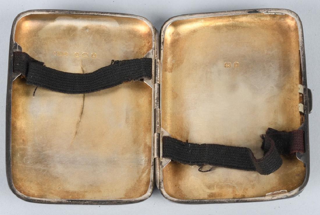 19th CENT. HENRY WILKINSON SILVER CIGARETTE CASE - 2