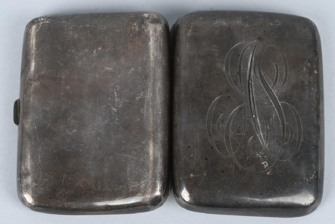 19th CENT. HENRY WILKINSON SILVER CIGARETTE CASE - 3