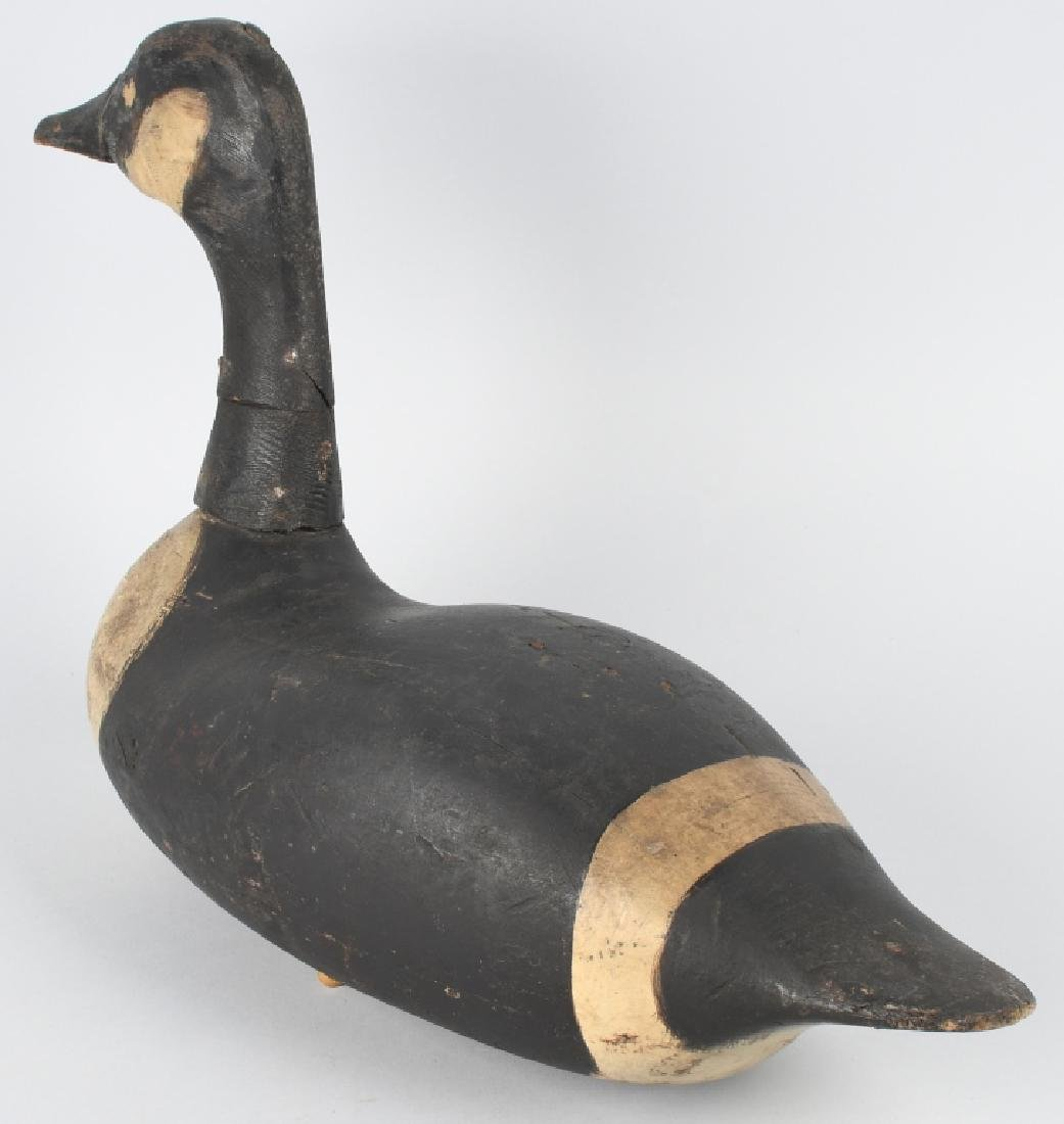 CANADIAN GOOSE HUNTING DECOY MARKED U.S. - S.S. - 3
