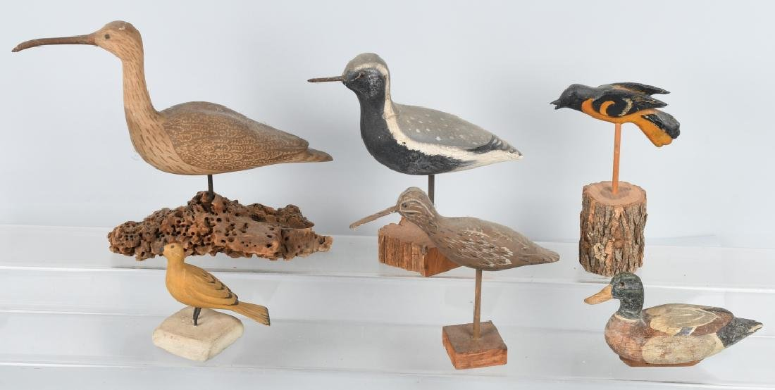 LOT of CARVED SAND PIPER BIRDS and MORE - 2