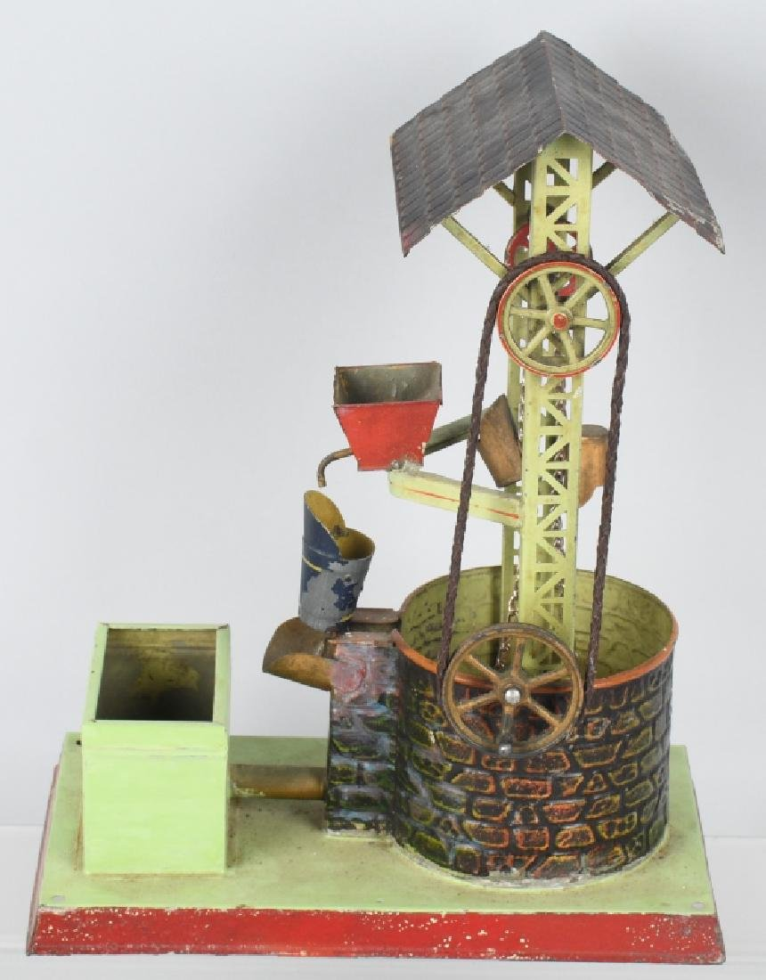 GERMAN DOLL & CO. WATER WELL STEAM TOY