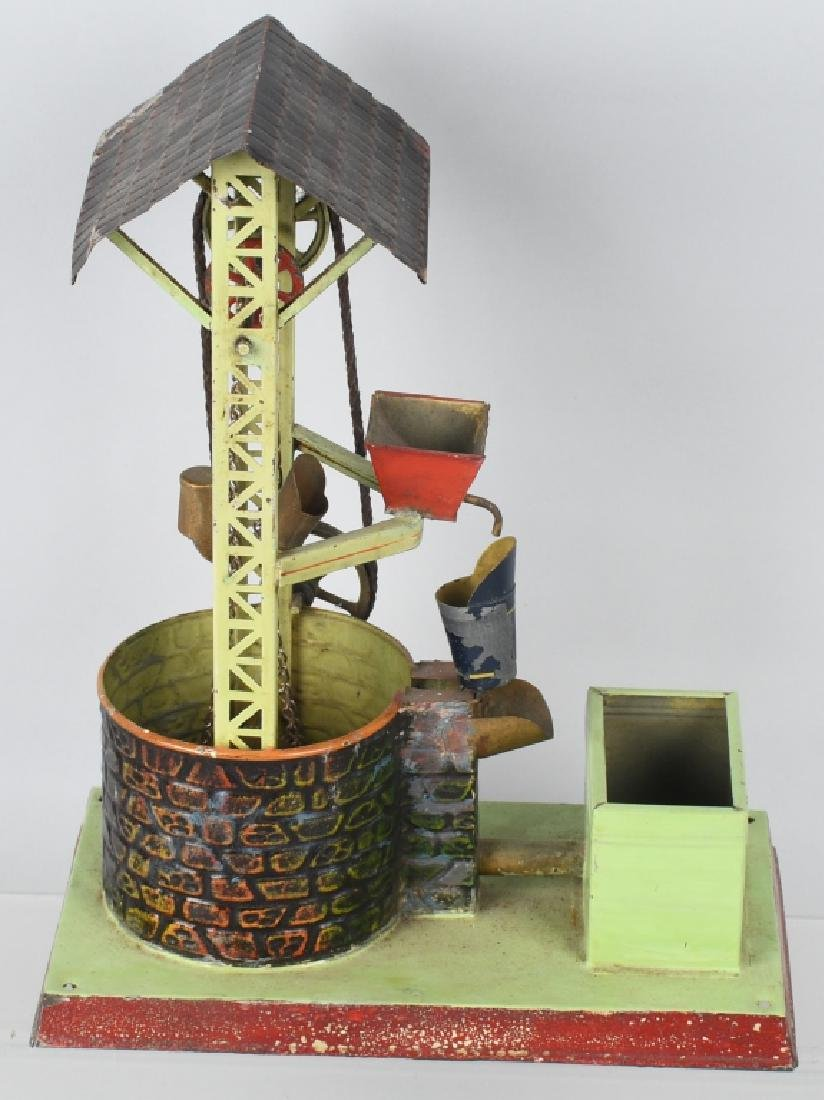 GERMAN DOLL & CO. WATER WELL STEAM TOY - 2