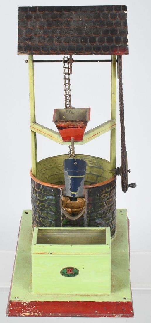 GERMAN DOLL & CO. WATER WELL STEAM TOY - 3
