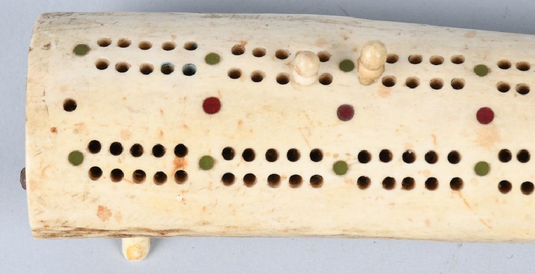 INUITE WALRUS CRIBBAGE BOARD - 3