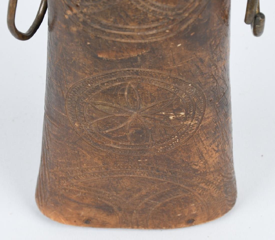 18th CENTURY PENNSYLVANIA POWDER HORN - 3