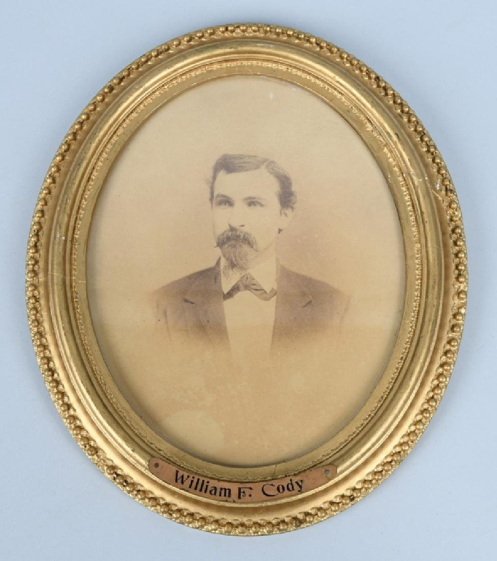 "1880s WILLIAM F CODY ""WILD BILL CODY"" PHOTOGRAPH"