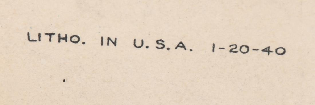 1940 SATURDAY EVENING POST ROBERT LEE POSTER - 5