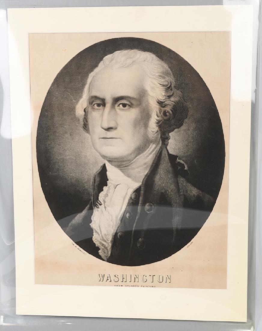 G. WASHINGTON PRINT By STUARTS PAINTING