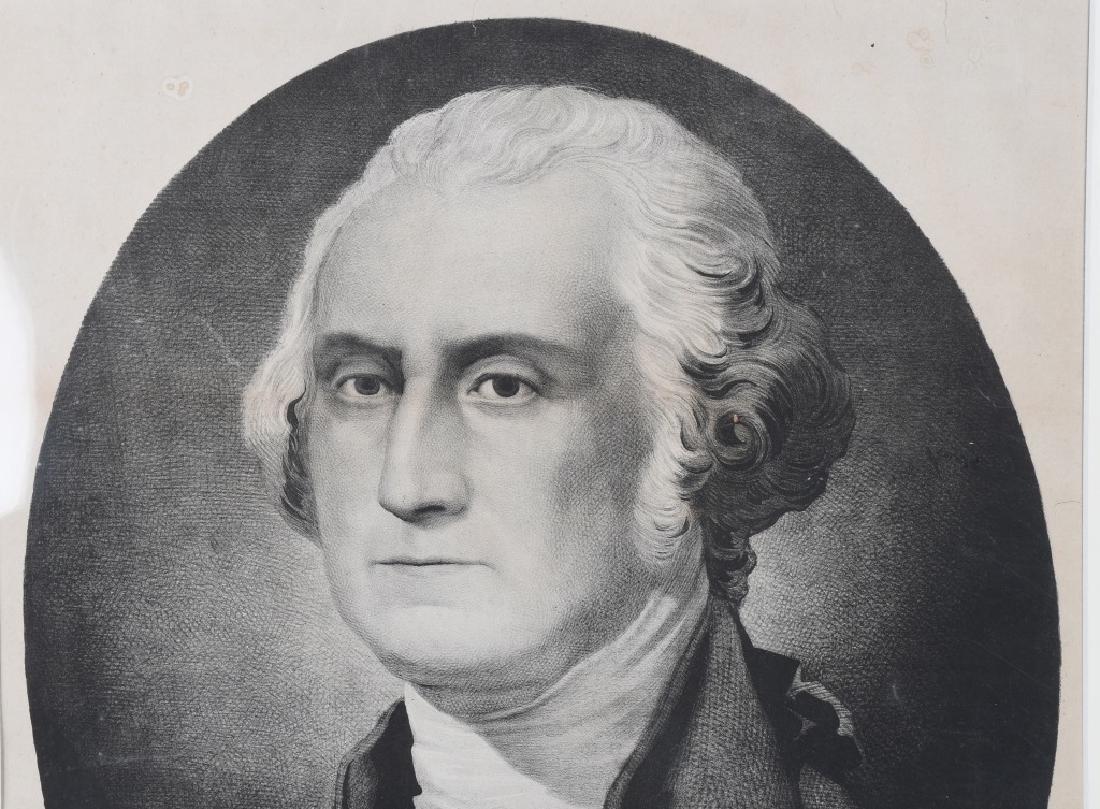 G. WASHINGTON PRINT By STUARTS PAINTING - 2