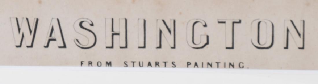 G. WASHINGTON PRINT By STUARTS PAINTING - 3