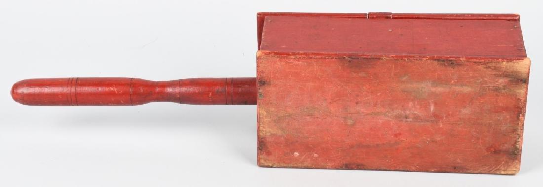 19th CENTURY WOODEN BALLOT BOX - 4