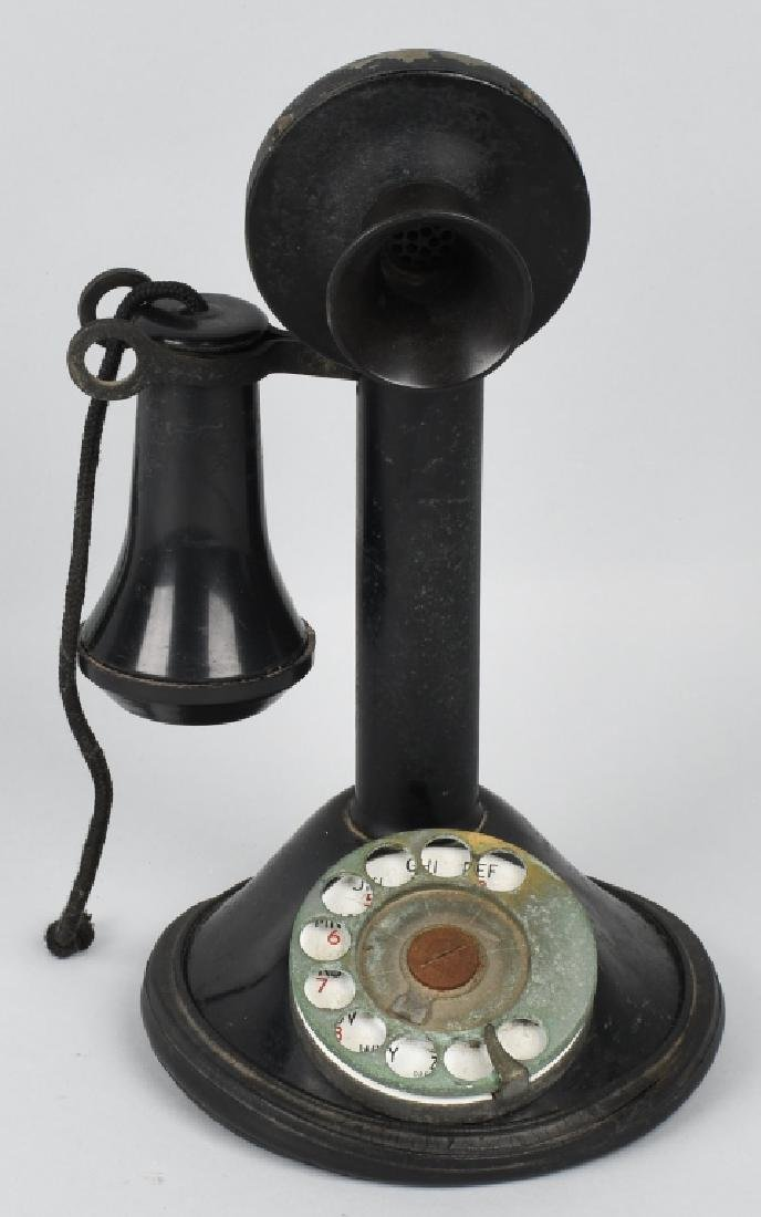 EARLY CANDLESTICK TELEPHONE