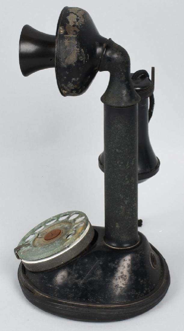 EARLY CANDLESTICK TELEPHONE - 2
