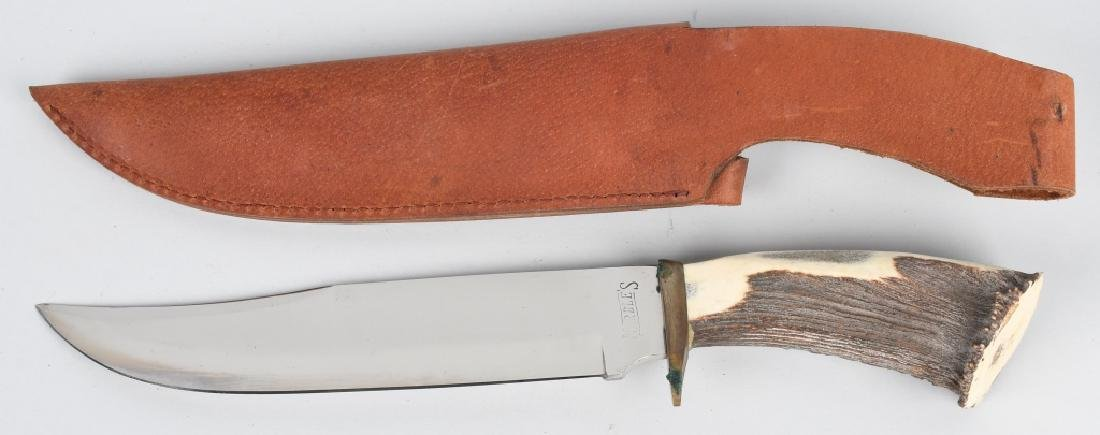 3-MARBLES KNIVES & LEATHER SHEATHES - 4