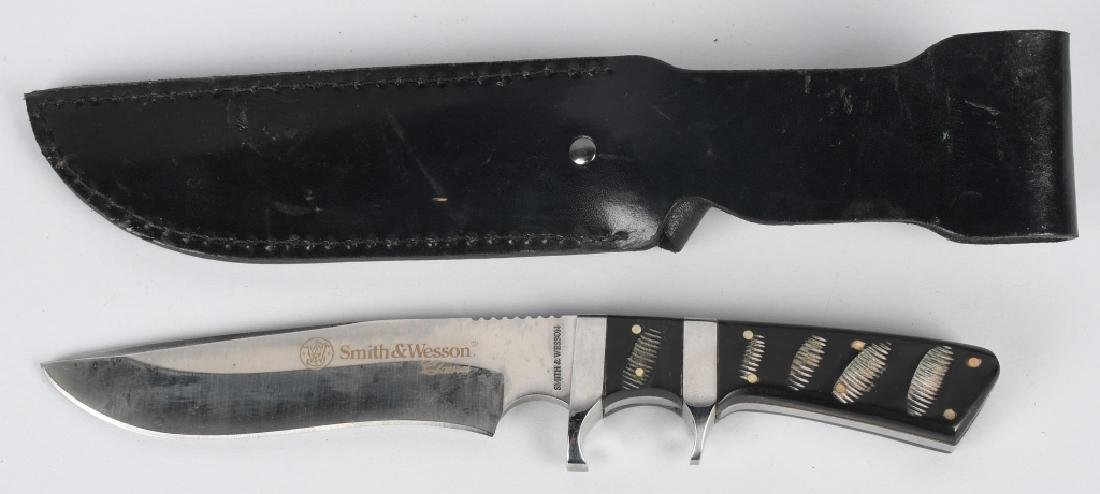 3-WINCHESTER and SMITH & WESSON KNIVES - 3
