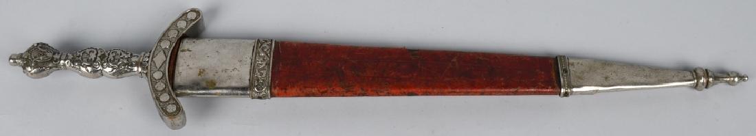 19th CENT. PATRIOTIC FRATERNAL SHORT SWORD - 10