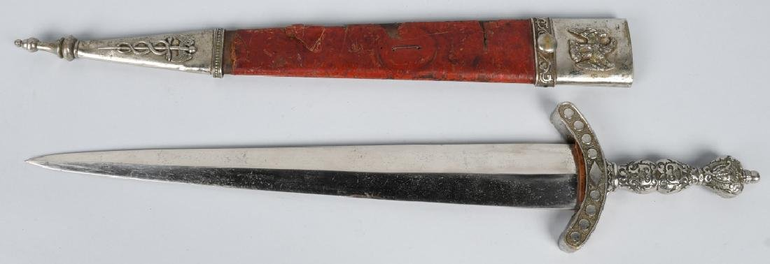 19th CENT. PATRIOTIC FRATERNAL SHORT SWORD