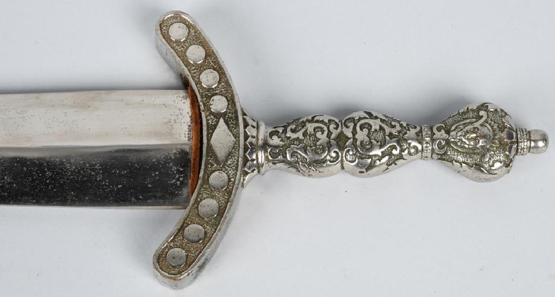 19th CENT. PATRIOTIC FRATERNAL SHORT SWORD - 2