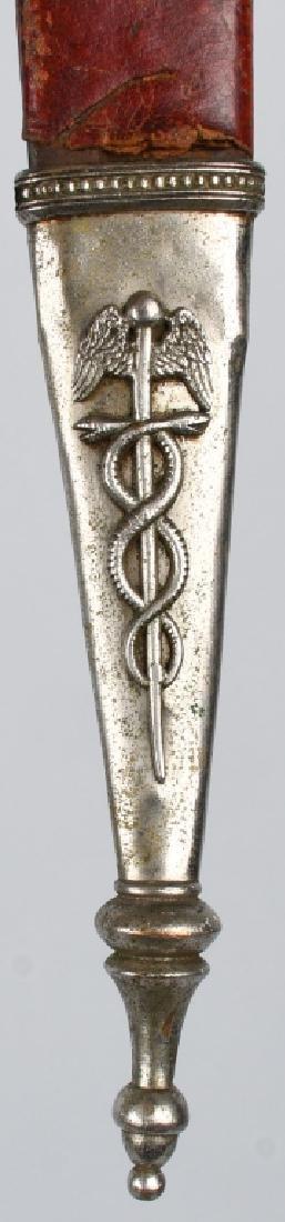 19th CENT. PATRIOTIC FRATERNAL SHORT SWORD - 9