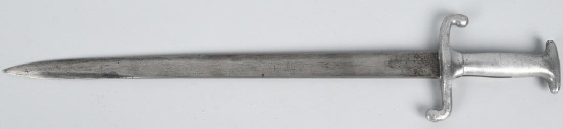 TRENCH ART ALUMINUM HANDLE SHORT SWORD