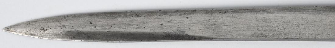 TRENCH ART ALUMINUM HANDLE SHORT SWORD - 4