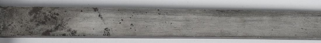 TRENCH ART ALUMINUM HANDLE SHORT SWORD - 6